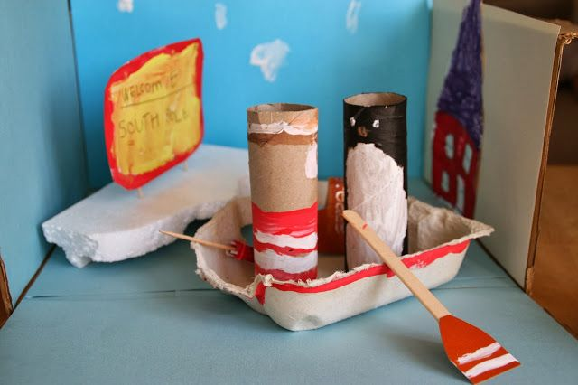 Create with your hands: Lost and Found Story Box