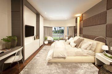 A Modern Miami Home - modern - bedroom - miami - DKOR Interiors Inc.- Interior Designers Miami, FL