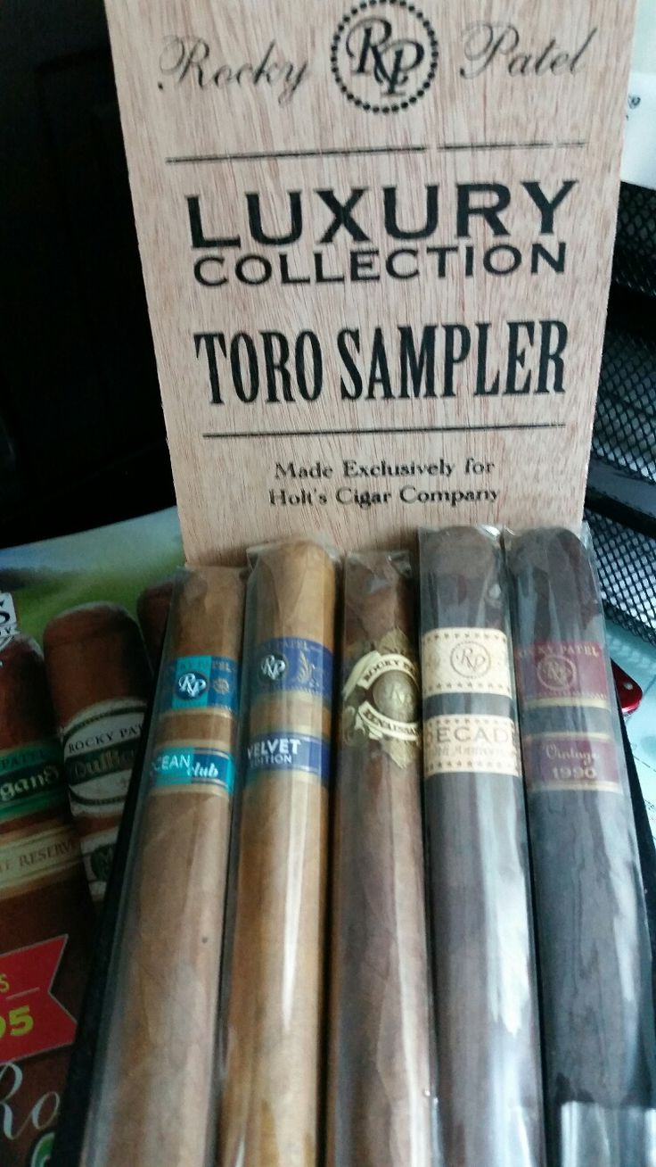 Review of Rocky Patel Luxury Collection Cigar Sampler: http://cigarczars.com/review/rocky-patel-luxury-cigars.htm