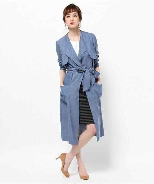 レディライクに仕上がる♡春のファッション アイテム デニムコート コーデを集めました!