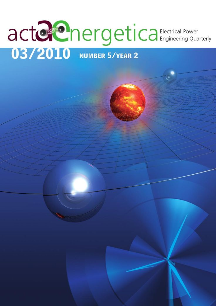 Acta Energetica Power Engineering Qtrly 03/2010  Acta Energetica is a scientific journal devoted to power engineering. It is published by the Polish energy holding Energa SA under the patronage of Gdańsk University of Technology.