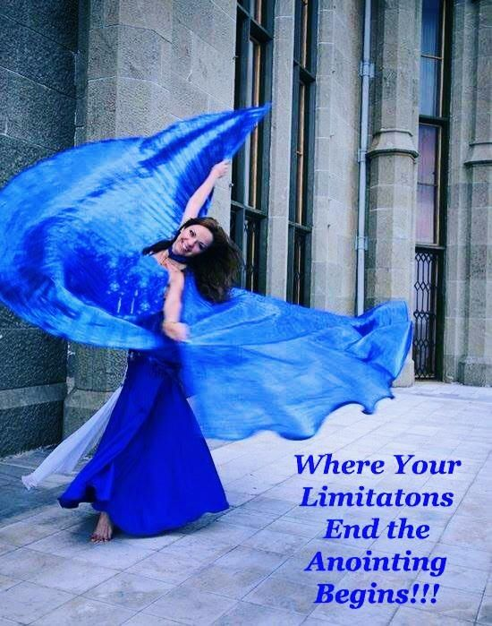 Where Your Limitations End the Anointing Begins!!! http://4everpraise.com #dance #praisedance #nolimits