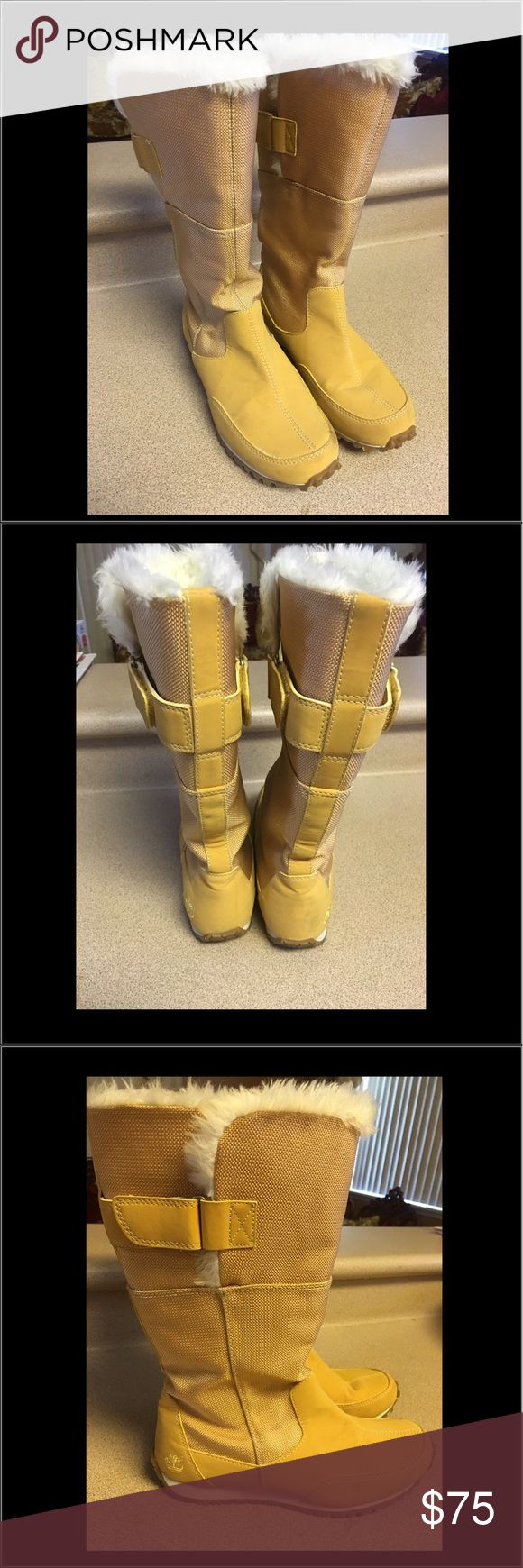 EUC TIMBERLAND Womens Mid-calf boot Size 8 Nubuck Pre-Owned TIMBERLAND Womens  Mid-calf boot Size 8 Nubuck Leather With Velcro. In good condition. Timberland Shoes Ankle Boots & Booties