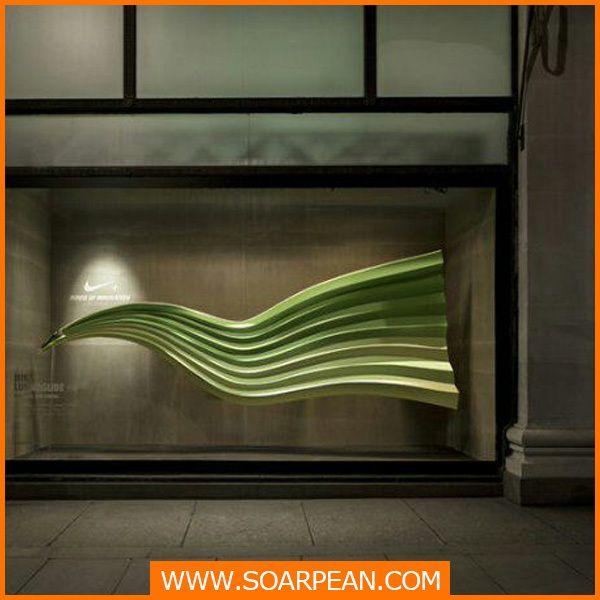 nieuwste ontwerp sport winkel etalage decor