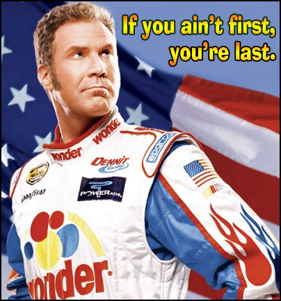 Ricky Bobby - People take note!