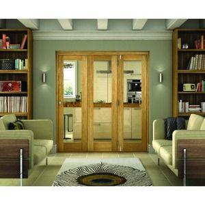 Belgrave 1 light folding door. 2074 (h) x 2090 (w)