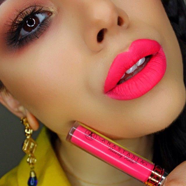 """Carina"" @anastasiabeverlyhills Liquid Lipstick. """