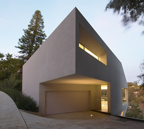 Inflate + Carve Hill House by Johnston Marklee