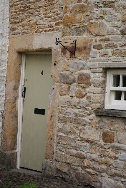 Farrow and Ball Ball Green Front Door from Modern Country Style blog: My Top Ten Farrow and Ball Front Door Colours