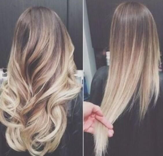 Beautiful Blonde Dip Dye - Add Kati3