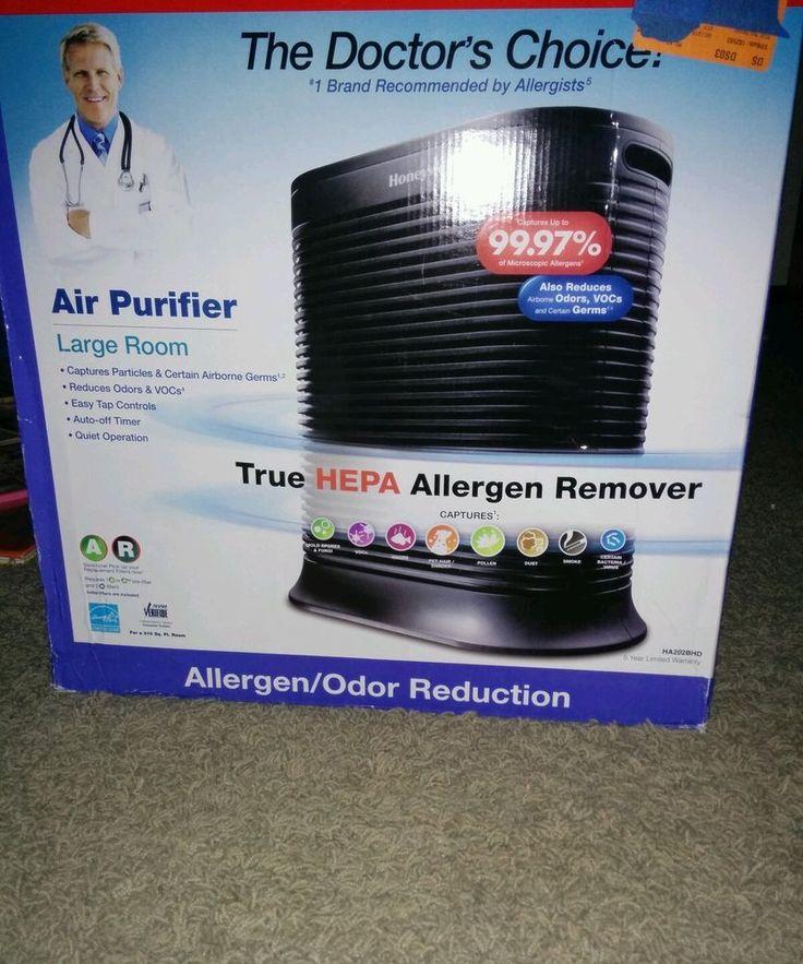 Honeywell Doctors Choice Hepa Allergen Remover / Odor