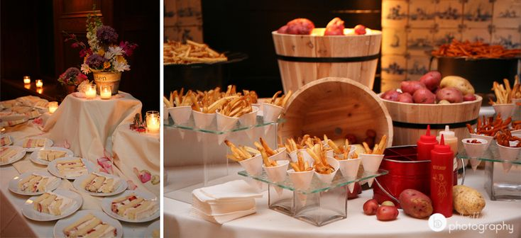On The Right Is Our French Fry Station At Willowdale