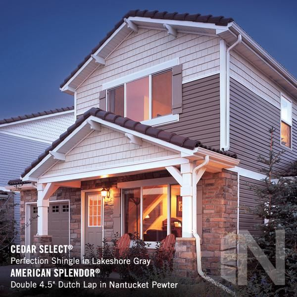 Napco Cedar Select In Lakeshore Gray With American