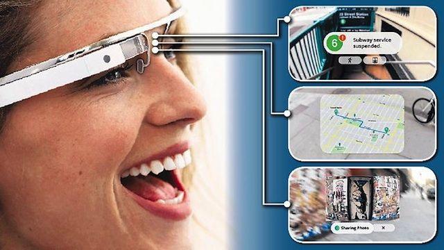 Google Glass. 2013