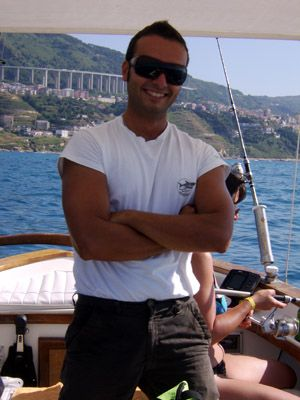 Daniele our professional skipper