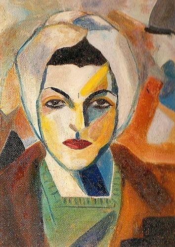 Saloua Raouda Choucair, 1943  (Lebanese, b. 1916)