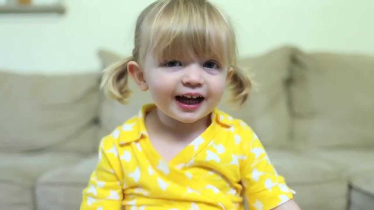 Precious video of a little girl telling her mother happy birthday!