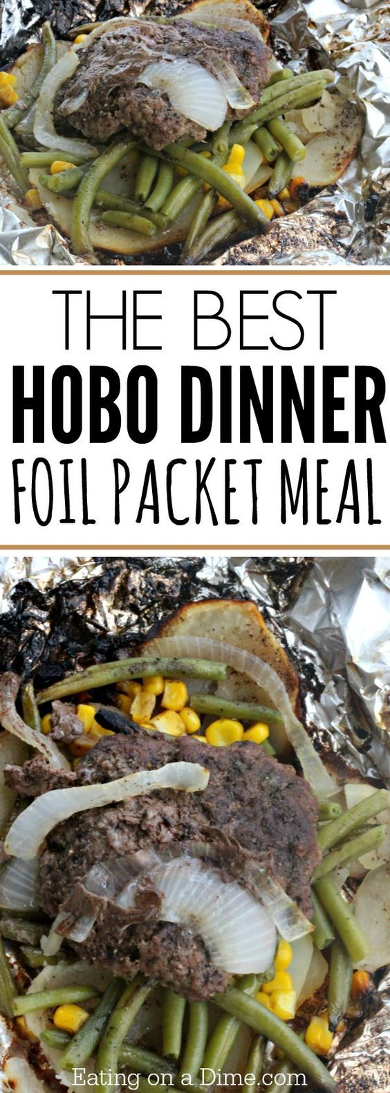 We love this simple Hobo Dinner Foil Packet Meal for the grill and campfires. It is the best hobo dinner recipe for Summer dinners and warm nights. Such an easy grilling recipe!