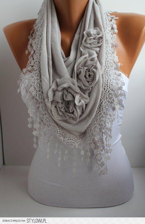 шьем умопомрачительно красивые шали из трикотажа
