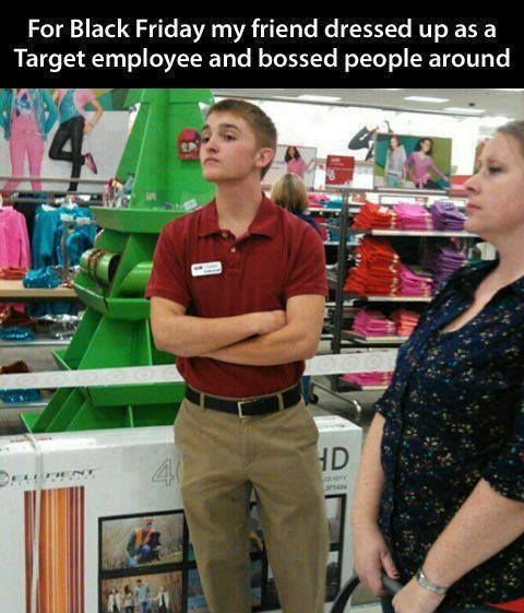 Black Friday Prank #BlackFriday, #Funny, #Shopping, #Target