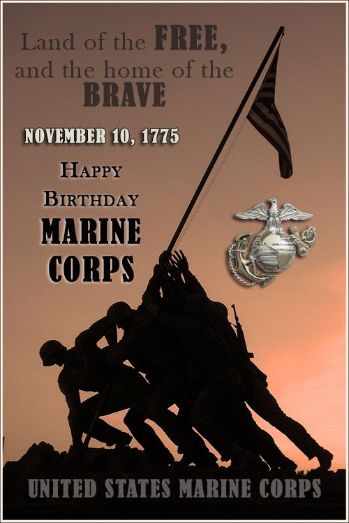 Happy Birthday Marine Corps, a tribute to my two Marine sons