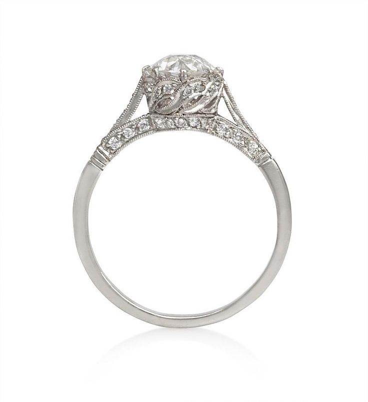 European cut diamond engagement ring #antique #vintage: Diamond Engagement Rings, Ideas, Rings Antique, Antique Rings, Diamond Rings, I M, Wedding Decorations, Beautiful Rings, Diamonds Engagement Rings