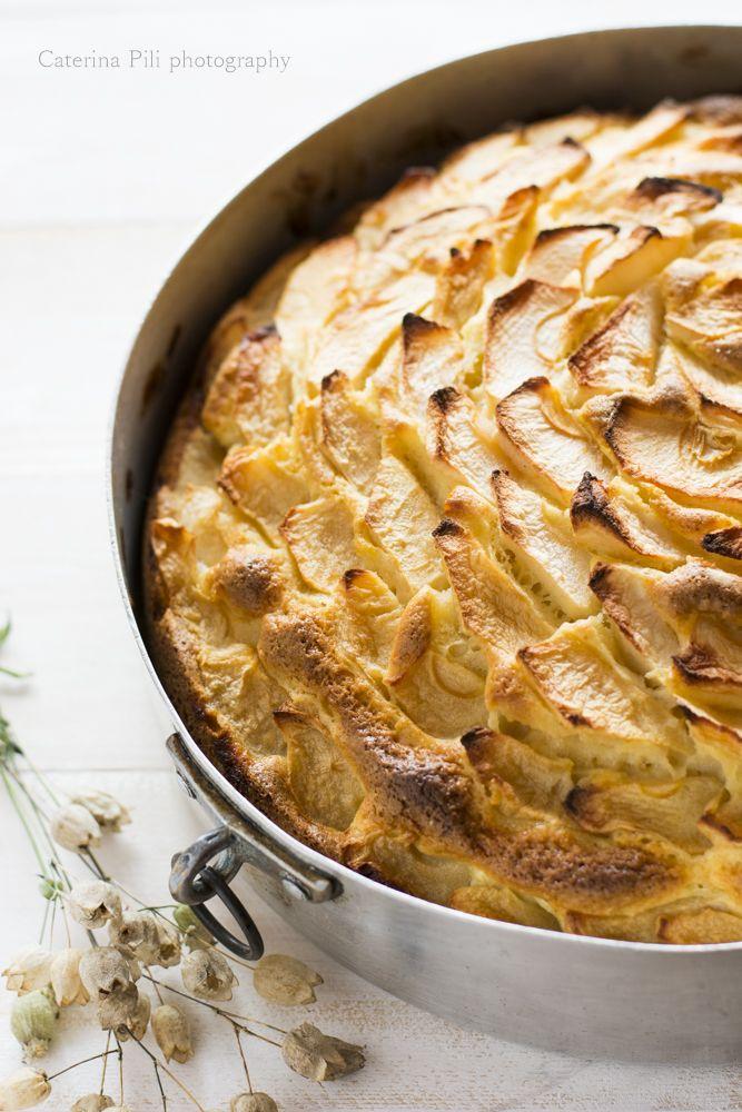 come preparare la torta di mele light con l'aiuto del Bimby, una ricetta senza burro