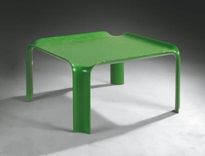 Ventes aux enchères Paris Pierre PAULIN Petite table basse en ...