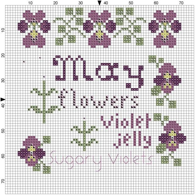 May x stitch block of the month