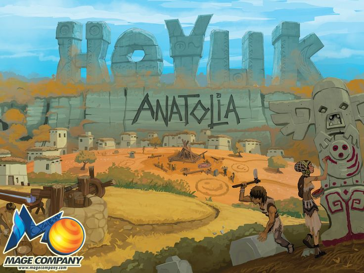 Hoyuk : Anatolia is an expansion for the popular board game Hoyuk that's crowdfunding on Kickstarter