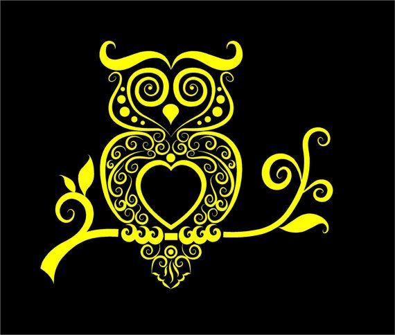 Best Custom Vinyl Decals Images On Pinterest - Owl custom vinyl decals for car