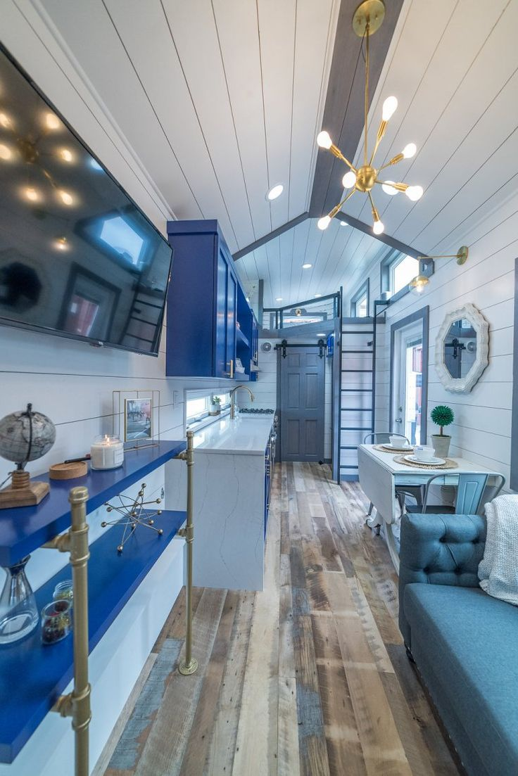 330 Sq. Ft. Movable Roots Tiny House On Wheels! U2013 Tiny House Lover