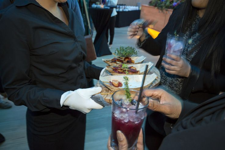 Food at the event by Fare of London