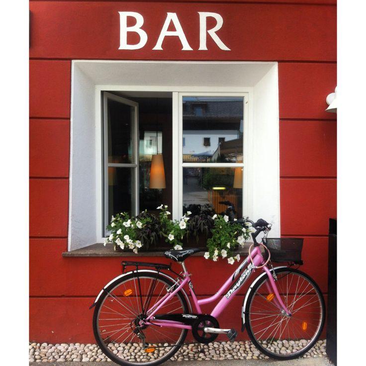 Bici-bar. By Luisa