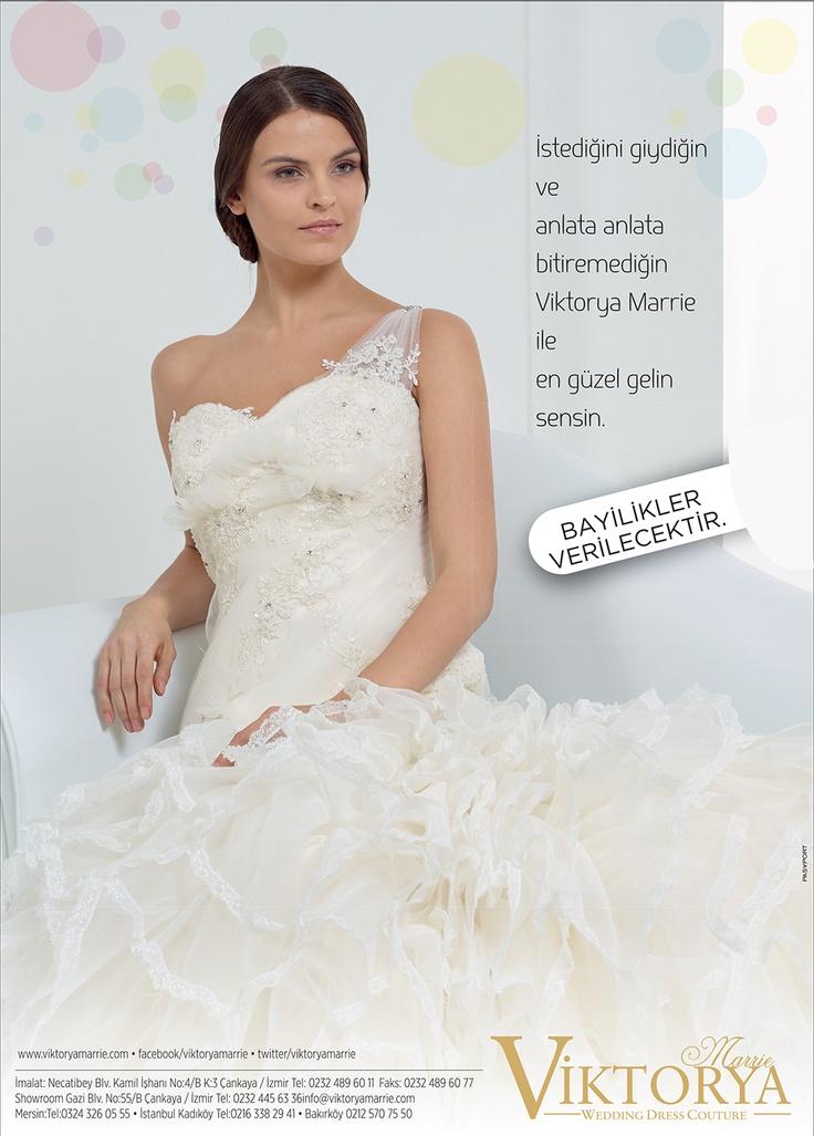 Viktorya Marrie - İstediğini giydiğin ve anlata anlata bitiremediğin Viktorya Marrie ile en güzel gelin sensin.