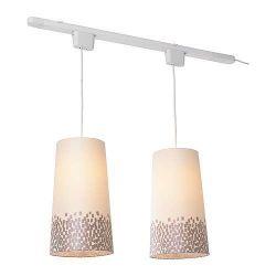 ...  track lighting | IKEA 365  SÄNDA/SKIMRA | Pendant lamp with track