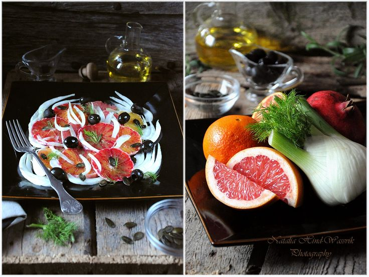 Citrus Salad with Fennel and Olives (with Ingredients for) 2
