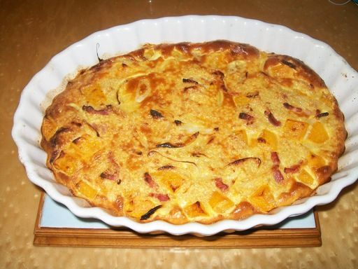 Gratin de quinoa et butternut - Recette de cuisine Marmiton : une recette