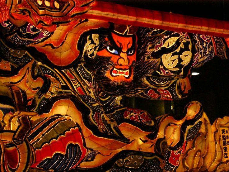 Nebuta festival in Aomori, Japan