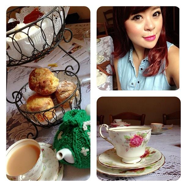 .@fidelistoh | Apple + cheese scones @ creme brûlée tea! | Webstagram - the best Instagram viewer