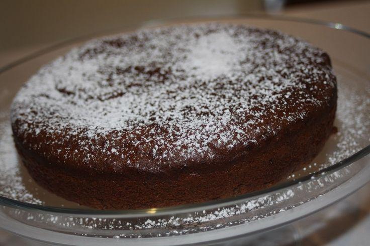 Gluten Free Mud Cake (flourless and refined sugar free)