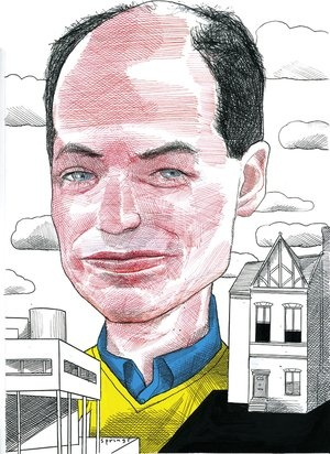 Alain de Botton by John Springs