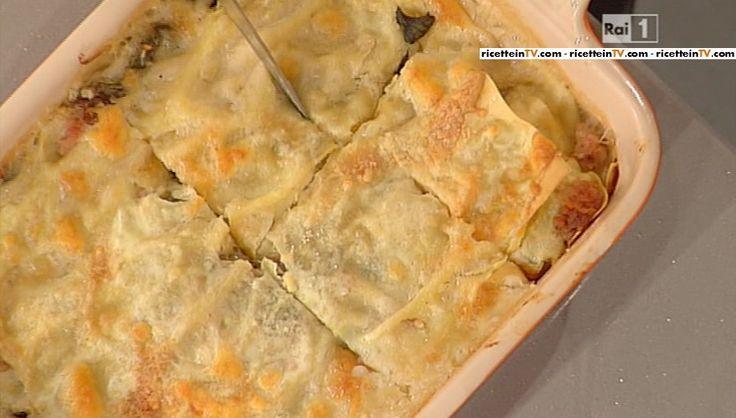 La ricetta della lasagna con i carciofi di Anna Moroni del 2 marzo 2015 – La prova del cuoco