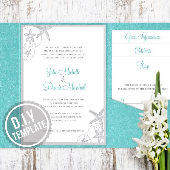 25 Best Ideas About Diy Wedding Invitation Suites On Pinterest