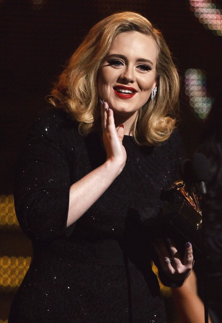 Adele at the 'Grammy 2012' (2012)
