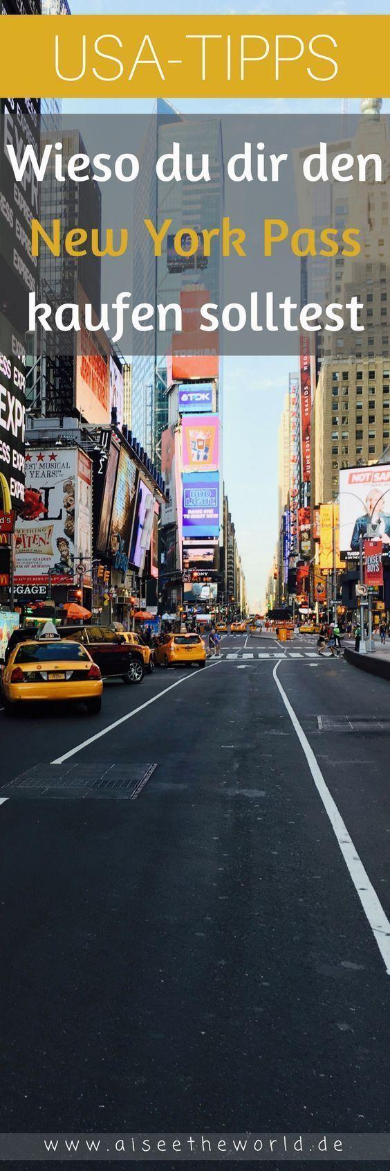 New York Pass: Wieso sich der New York Pass lohnt