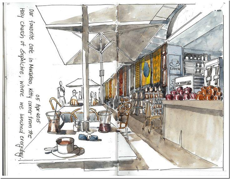 Urban Sketchers: Jerusalem Sketchbook