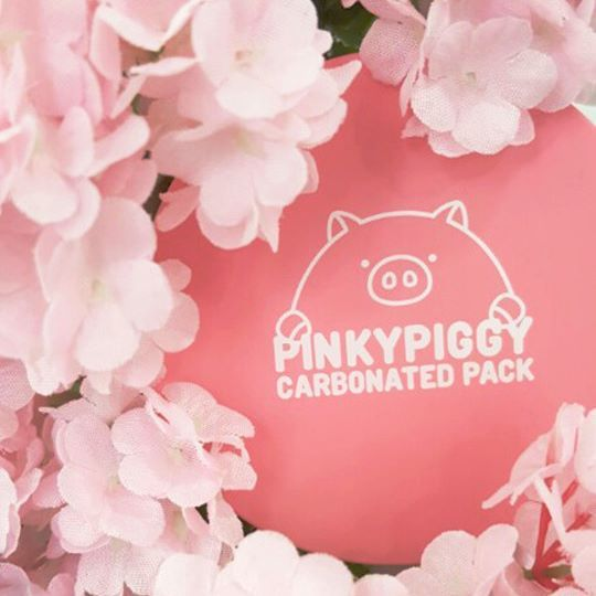 [April Skin] Pinky Piggy Carbonated Pack Blessings on you pore!  http://bbcosmetic.com/april-skin-pinky-piggy-carbonated-pack-100ml/ http://bbcosmetic.com/april-skin-pinky-piggy-collagen-pack-100ml/  #aprilskin #pinkypiggy #carbonatedpack #bbcosmetic_official #pore #nosepore #collagenpack #elizavecca