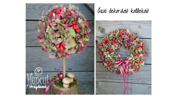 Autumn collection / Őszi ajtódísz és asztaldísz kollekció