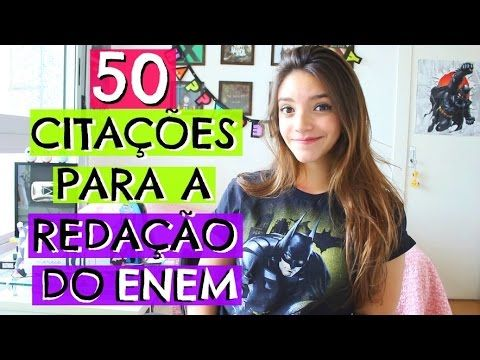 50 CITAÇÕES FILOSÓFICAS PARA COLOCAR NA REDAÇÃO DO ENEM - Débora Aladim